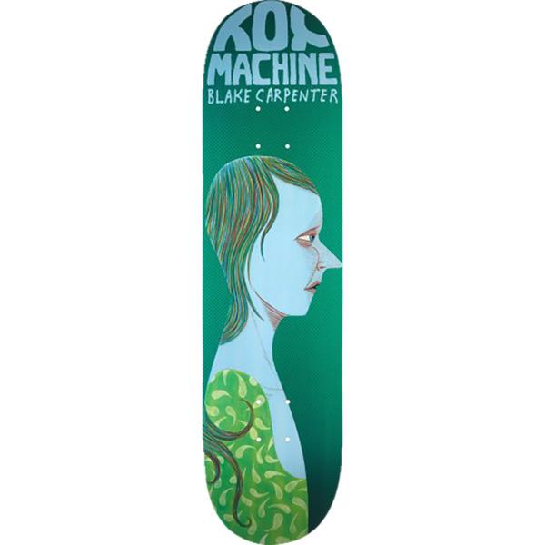 "Toy Machine Skateboards Blake Carpenter Faces Skateboard Deck - 8.38"" x 32.25"""