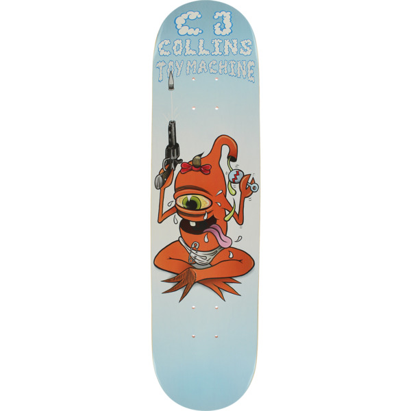 "Toy Machine Skateboards CJ Collins Baby Sect Skateboard Deck - 7.75"" x 31.25"""