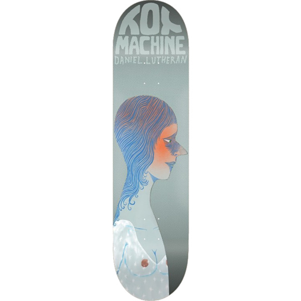 "Toy Machine Skateboards Daniel Lutheran Faces Skateboard Deck - 8.38"" x 32.25"""