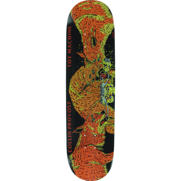 "Toy Machine Skateboards Collin Provost Beer Wolves Skateboard Deck - 8"" x 32.25"""