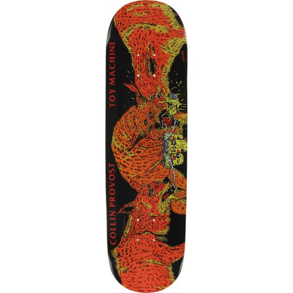 "Toy Machine Skateboards Collin Provost Beer Wolves Skateboard Deck - 8.25"" x 31.5"""