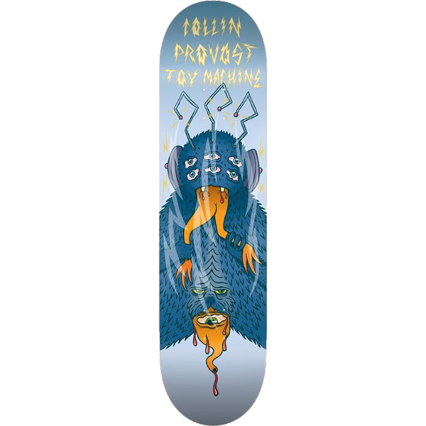 "Toy Machine Skateboards Collin Provost Cannibal Sect Skateboard Deck - 8.38"" x 32.25"""
