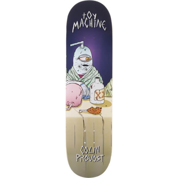 machine last supper deck