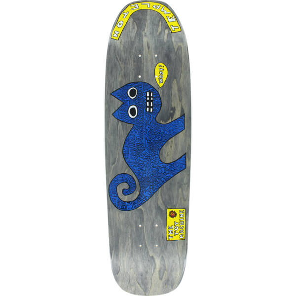 "Toy Machine Skateboards Ed Templeton Cat Re-Issue Skateboard Deck - 8.75"" x 31.13"""
