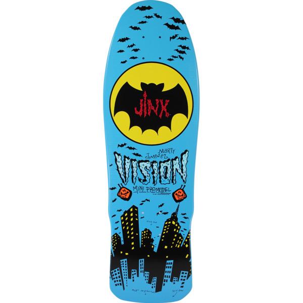 """Vision Skateboards OG Jinx Blue Old School Skateboard Deck - 9.5"""" x 29.5"""""""