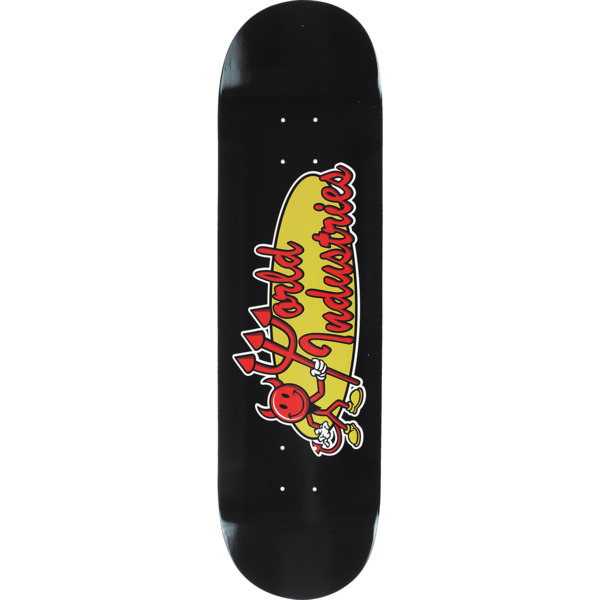 "World Industries Skateboards Devilman Classic Skateboard Deck - 8.1"" x 32"""