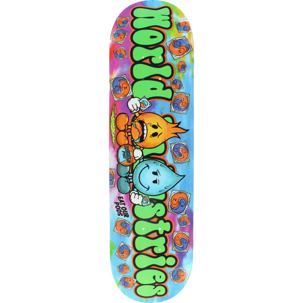 "World Industries Skateboards Pods Skateboard Deck - 8.25"" x 33"""