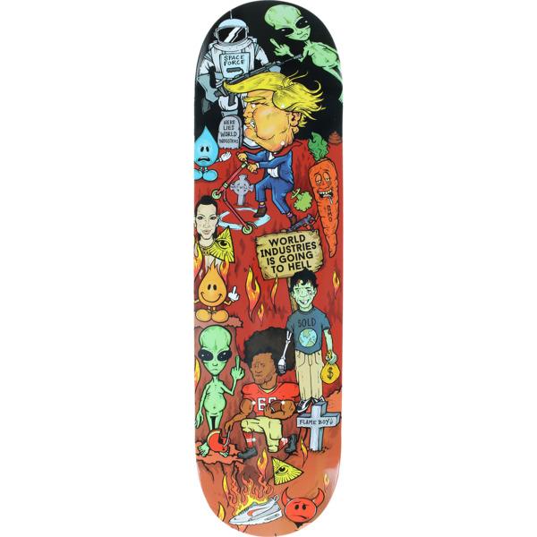 "World Industries Skateboards Worst Deck Ever Skateboard Deck - 8.3"" x 32"""