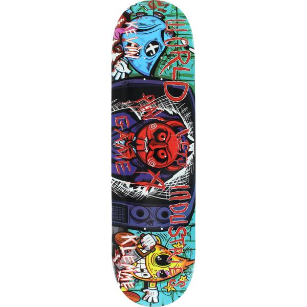 "World Industries Skateboards Kevin Klemme Saw Boys Skateboard Deck - 8.25"" x 32"""