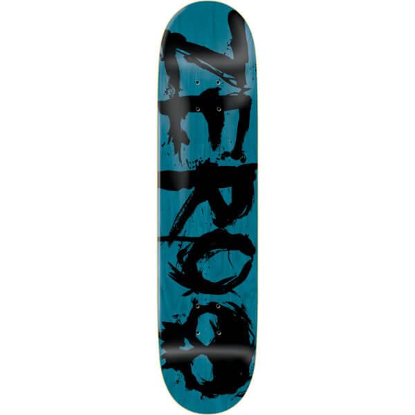 Zero Skateboards Blood Blue   Black Skateboard Deck - 8 x 31.6 - Warehouse  Skateboards 51c157c6567