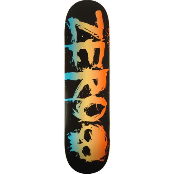 Zero skateboards blood rainbox skateboard deck x 32 for Best paint for skateboard decks