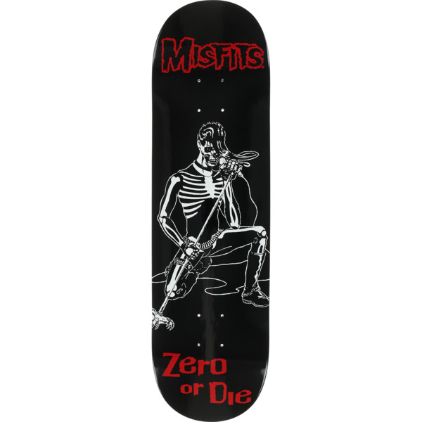 "Zero Skateboards Misfits Brutality Skateboard Deck - 8.37"" x 32"""