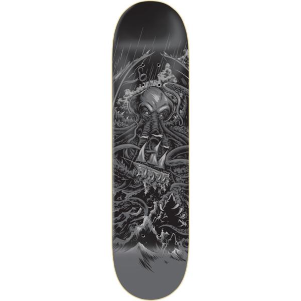 "Zero Skateboards James Brockman Cthulhu Retirement Skateboard Deck - 8.25"" x 31.9"""
