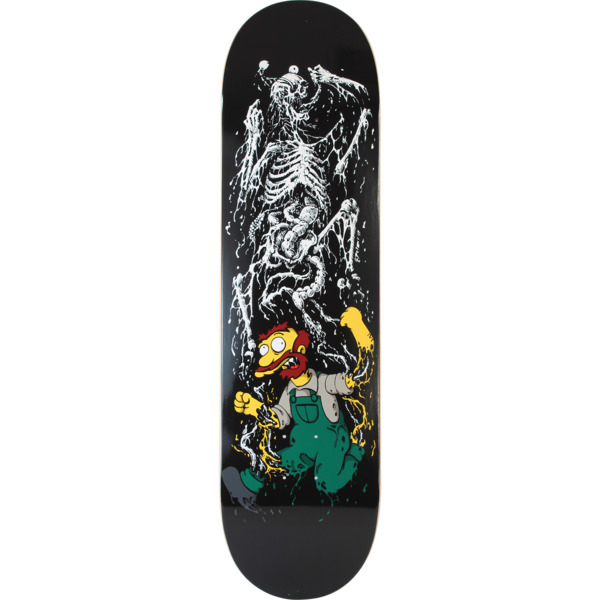 "Zero Skateboards James Brockman Springfield Massacre Skateboard Deck - 8.37"" x 31.9"""
