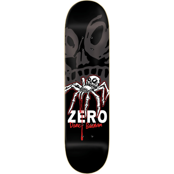 "Zero Skateboards Dane Burman Insect Skateboard Deck - 8.25"" x 31.6"""