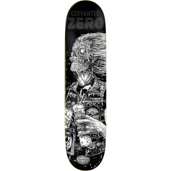 "Zero Skateboards Tony Cervantes Faces Of Death Resin-7 Skateboard Deck - 8.5"" x 32.2"""