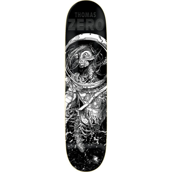 "Zero Skateboards Jamie Thomas Faces Of Death Resin-7 Skateboard Deck - 8.25"" x 31.9"""