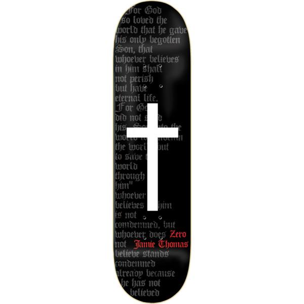 "Zero Skateboards Jamie Thomas OG Cross Skateboard Deck - 8.37"" x 31.6"""