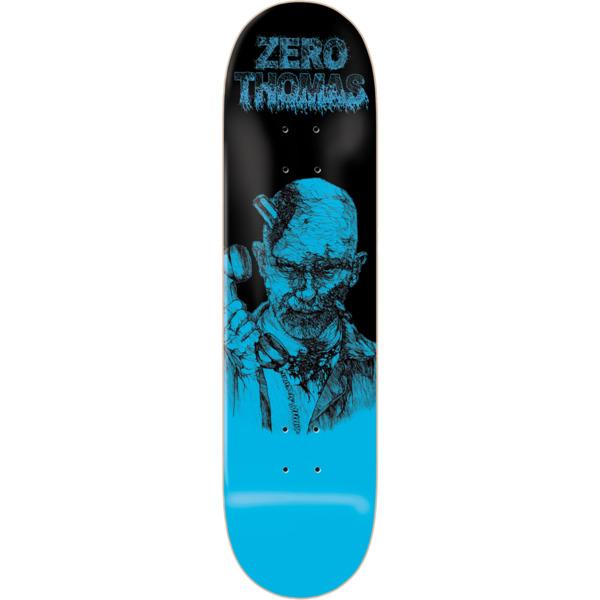 """Zero Skateboards Jamie Thomas Zombie Blue / Black Skateboard Deck - 8.25"""" x 31.6"""""""