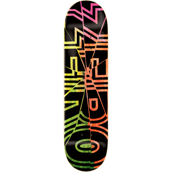 "Zero Skateboards Chris Wimer Bold Shattered Skateboard Deck - 8"" x 31.6"""