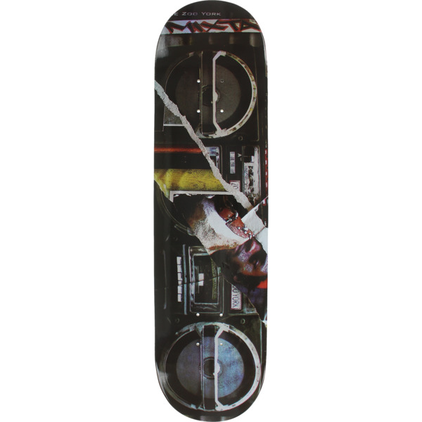 "Zoo York Skateboards Boom Box Skateboard Deck - 8.7"" x 32"""