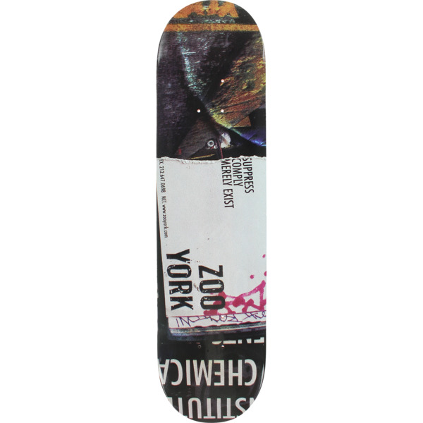 "Zoo York Skateboards Compressed Skateboard Deck - 8.3"" x 32"""