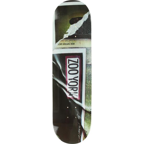 "Zoo York Skateboards Futura Box Skateboard Deck - 8.1"" x 32"""