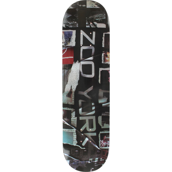 "Zoo York Skateboards Soccer Shirt Skateboard Deck - 8.5"" x 32.25"""