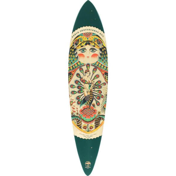 "Arbor Skateboards Artist Fish GT Cruiser Skateboard Deck - 8.75"" x 39"""