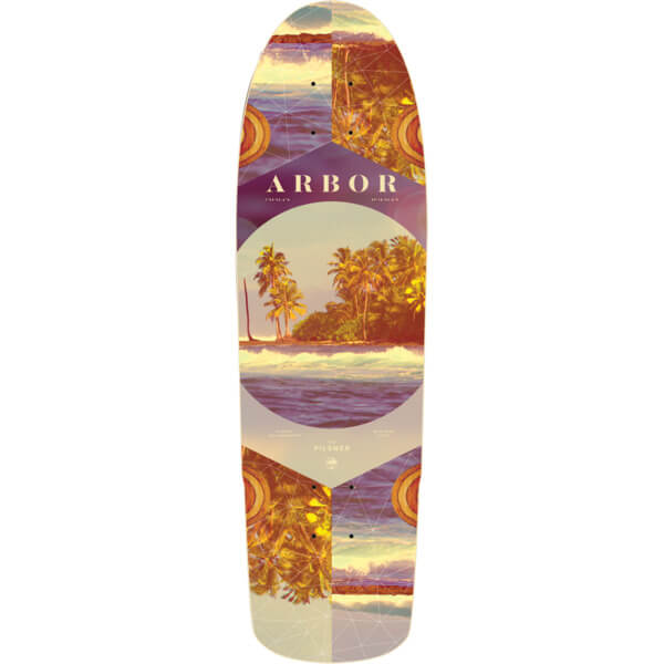 "Arbor Skateboards Photo Collection Pilsner Cruiser Skateboard Deck - 8.25"" x 28.75"""