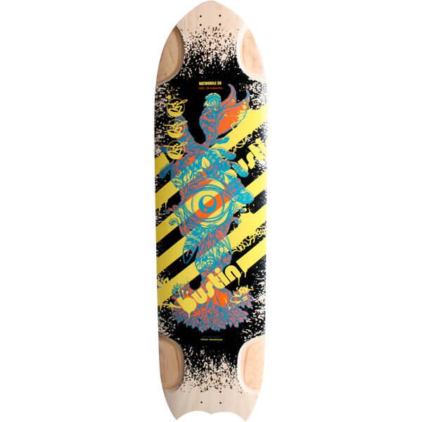 """Bustin Skateboards Ratmobile Birds Eye Longboard Skateboard Deck - 9.75"""" x 36"""""""