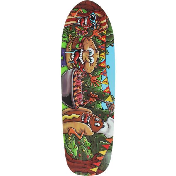 "Earthwing Skateboards Payback BBQ Cruiser Skateboard Deck - 9.5"" x 32.25"""