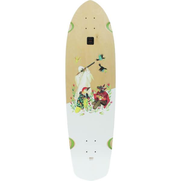 "Globe Blaser XL Earthly Delight Cruiser Skateboard Deck - 9.75"" x 36.25"""