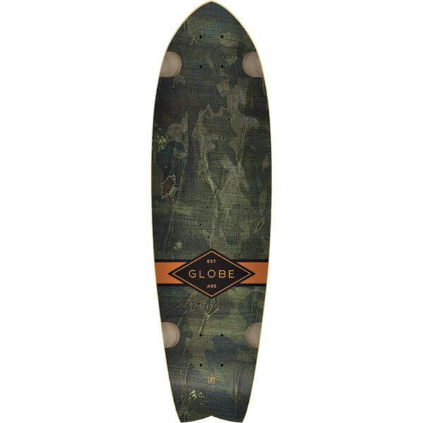 "Globe Chromantic Camo Cruiser Skateboard Deck w / Tailpad - 9.75"" x 33"""
