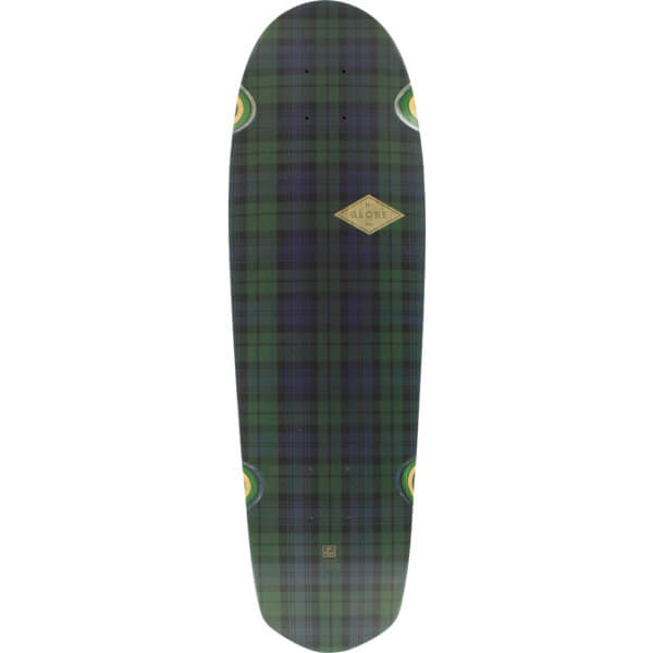 "Globe Pusher School Girl Plaid Cruiser Skateboard Deck - 8.75"" x 29.5"""