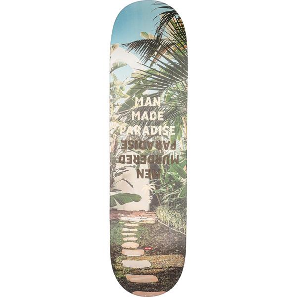 "Globe G1 Man Made Paradise Skateboard Deck - 8.37"" x 32.1"""
