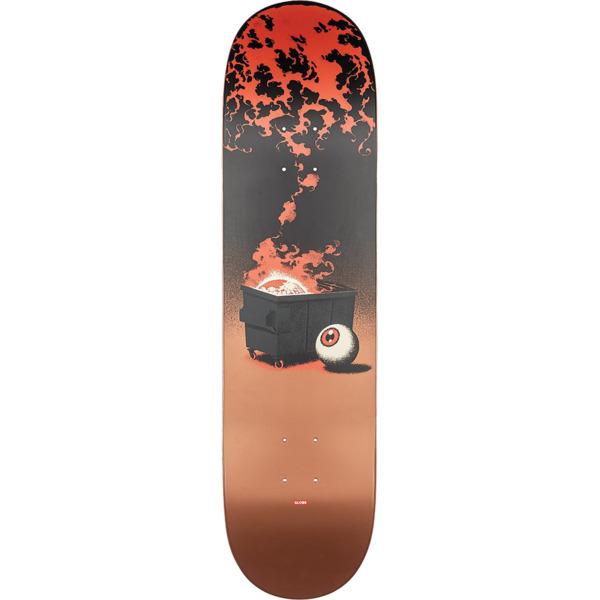 "Globe G2 On The Brink Dumpster Fire Skateboard Deck - 8.25"" x 31.9"""