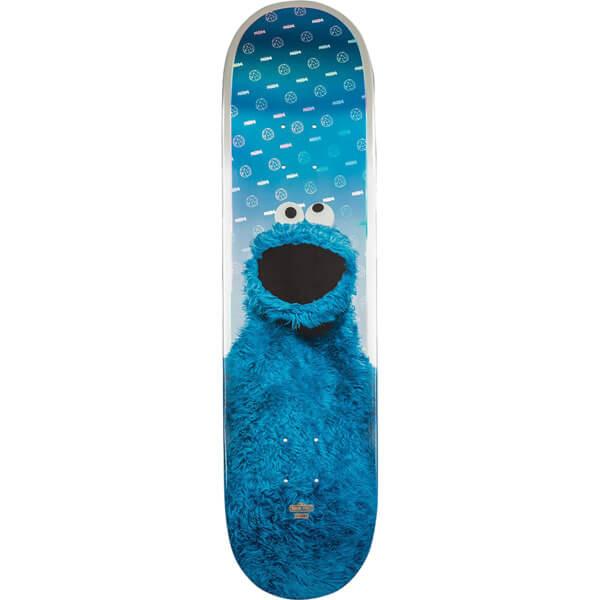 "Globe Sesame Street Cookie Monster Skateboard Deck - 8.125"" x 33"""