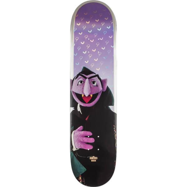"""Globe Sesame Street Count Von Count Skateboard Deck - 7.75"""" x 31.1"""""""
