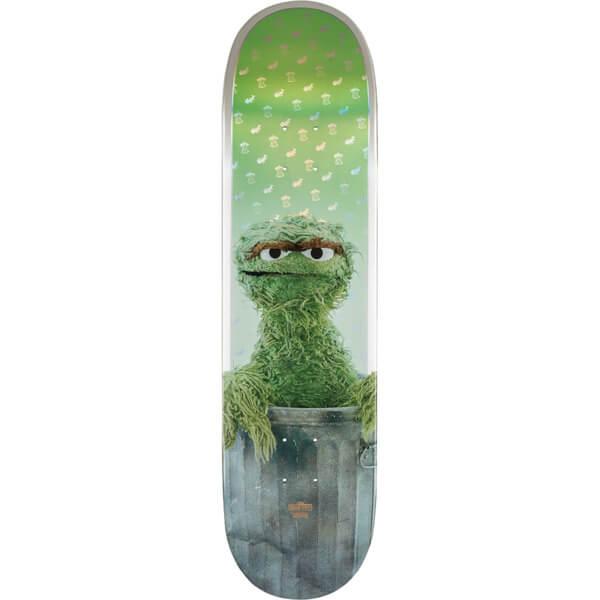 """Globe Sesame Street Oscar The Grouch Skateboard Deck - 8.25"""" x 31.2"""""""