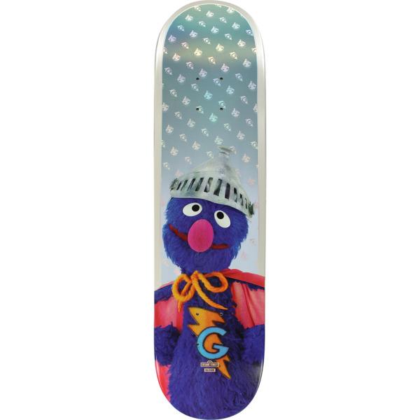 "Globe Sesame Street Super Grover Skateboard Deck - 7.75"" x 32"""