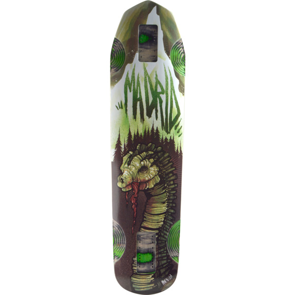 "Madrid Skateboards Nessie Longboard Skateboard Deck - 9.62"" x 38.25"""