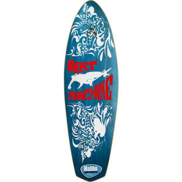 Malibu SurfSkates Bert Machine Longboard