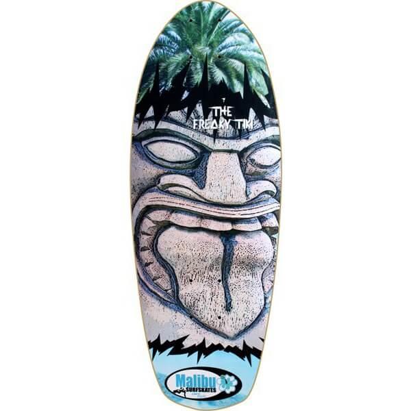 Malibu SurfSkates Freaky Tiki Longboard