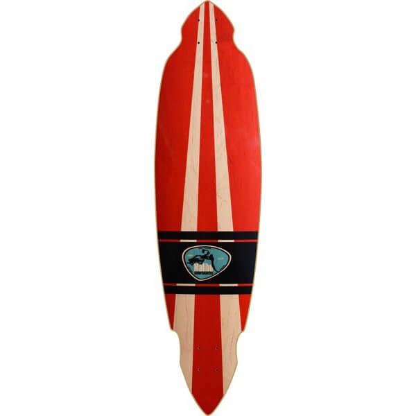 Malibu SurfSkates Pintail Longboard