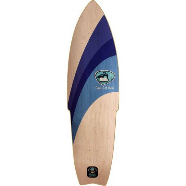 Malibu SurfSkates Super Surfskate Longboard