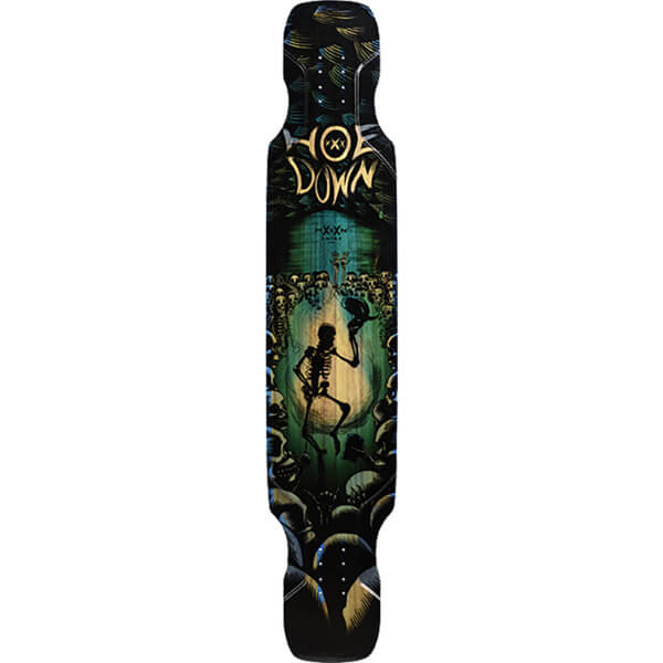 "Moonshine MFG 2018 Hoedown Soft Longboard Skateboard Deck - 9.5"" x 48"""