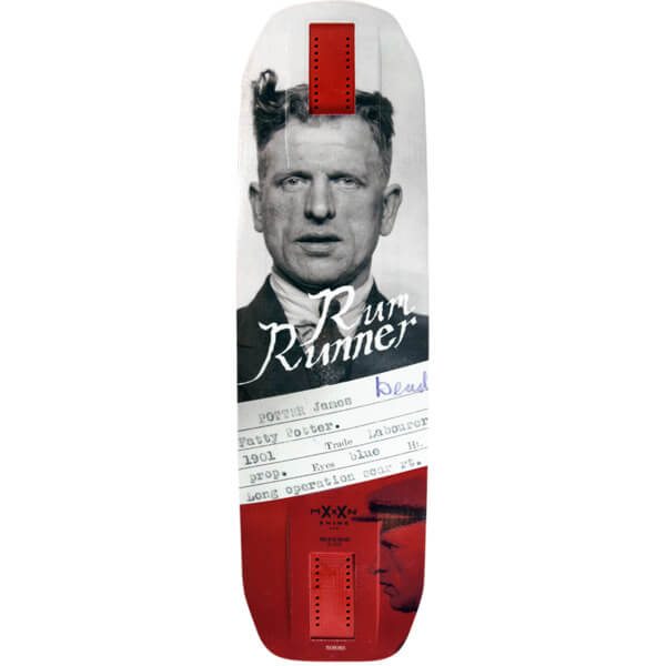"Moonshine MFG Rum Runner Longboard Skateboard Deck - 10"" x 35"""