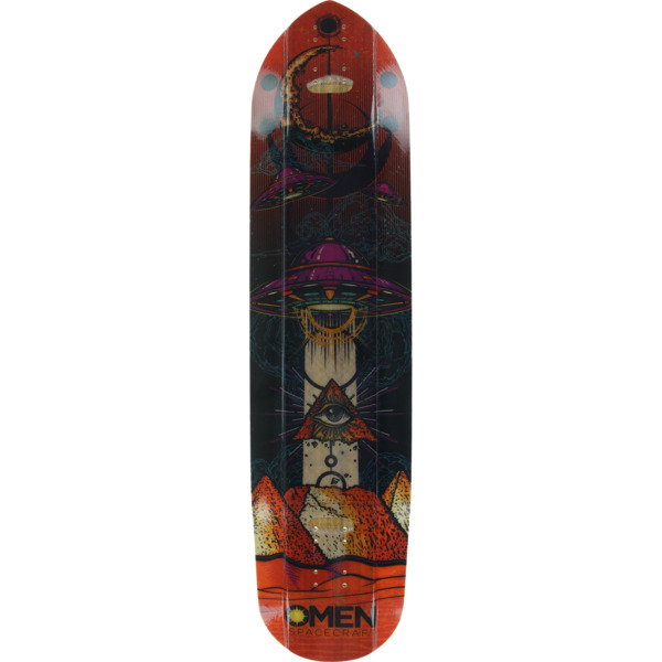 """Omen Boards Giza Longboard Skateboard Deck - 9.67"""" x 36"""""""