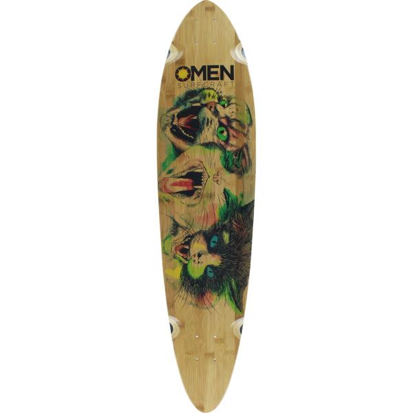 """Omen Boards Love Katz Longboard Skateboard Deck - 9.1"""" x 38"""""""